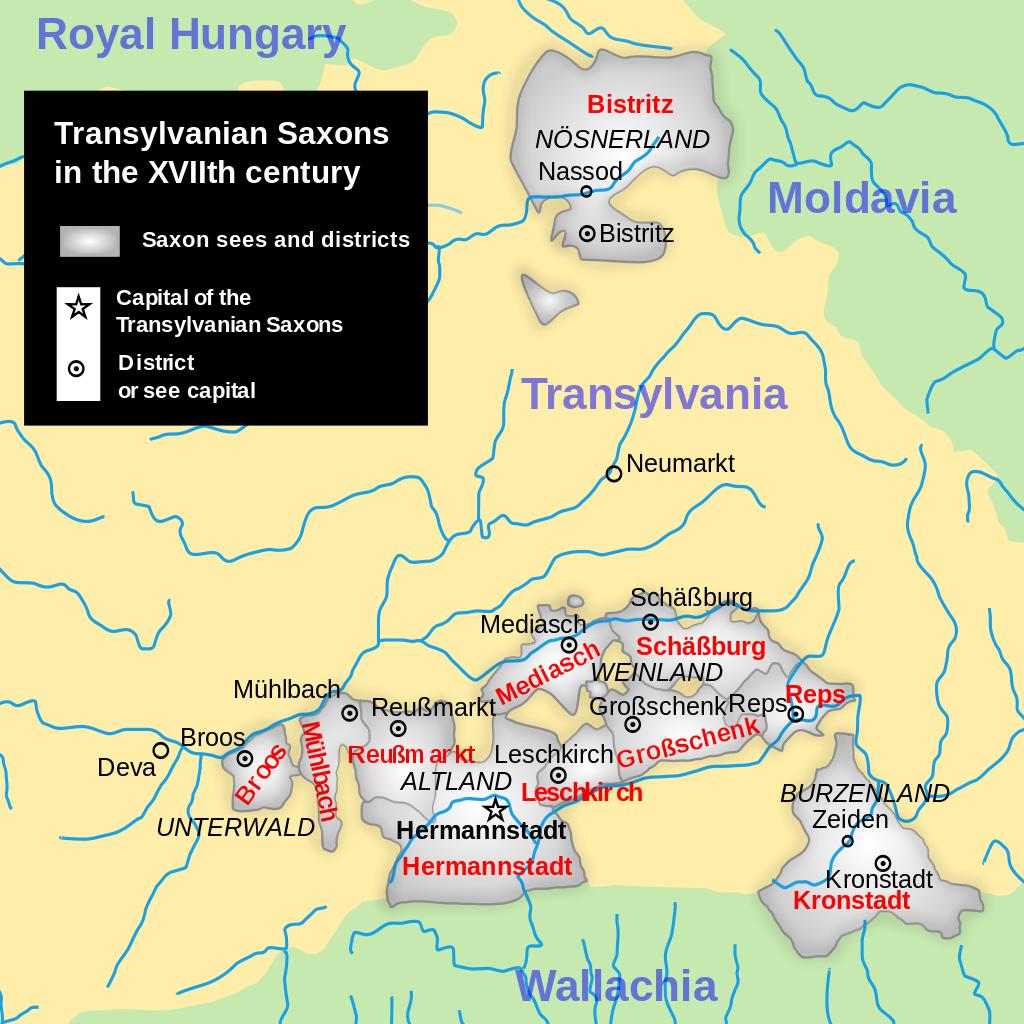 Saxons Transylvania - Transylvanian Saxons - Wikipedia ...