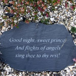 Goodnight Sweet Price And Flights Of Angels Sing Thee To Thy Rest