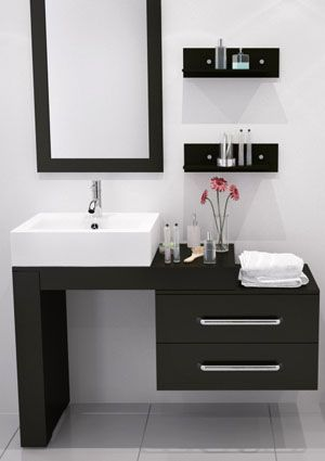 Flip It And Reverse It This Stylish Modern Vanity Exudes Modern
