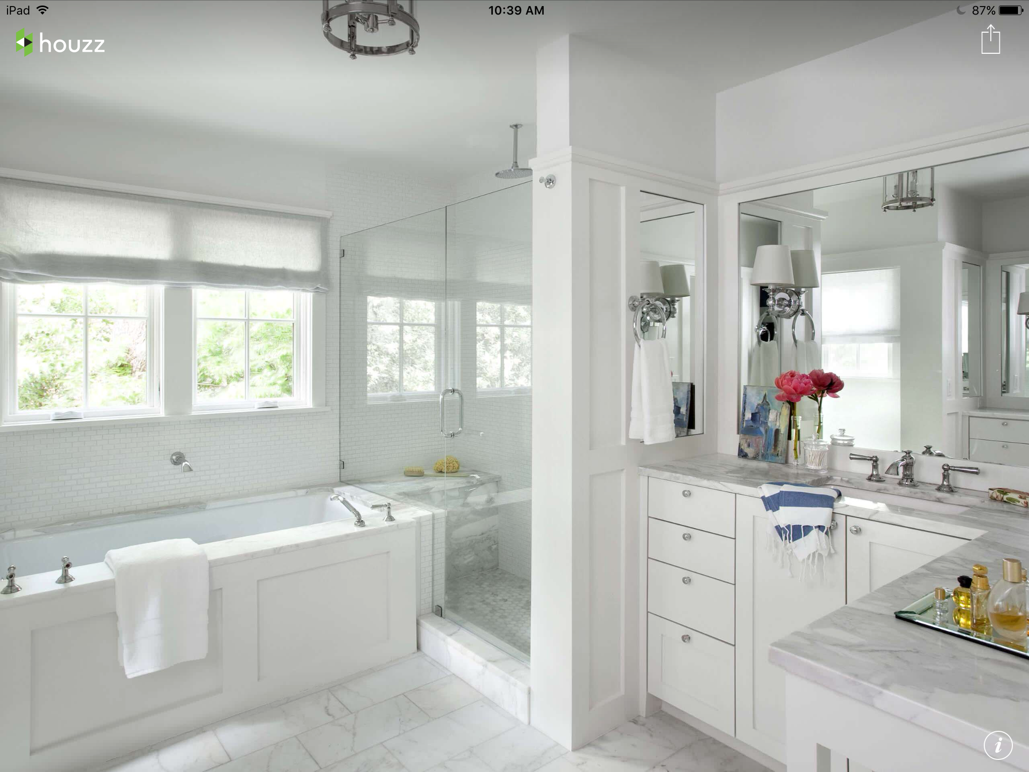 Tub, shower and window position similar to ours | HomeDec-Bathroom ...