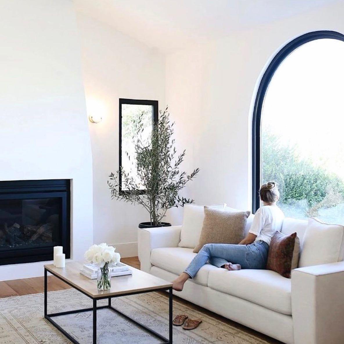 Sitka Quartz White Sofa