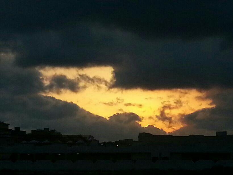 شروق الشمس بالصباح ساعه 6 Sunset Celestial Outdoor