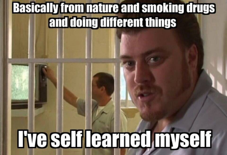 9b82ab9e49e2c0a716c6385c882246f7 trailer park boys, self taught trailer park boys memes