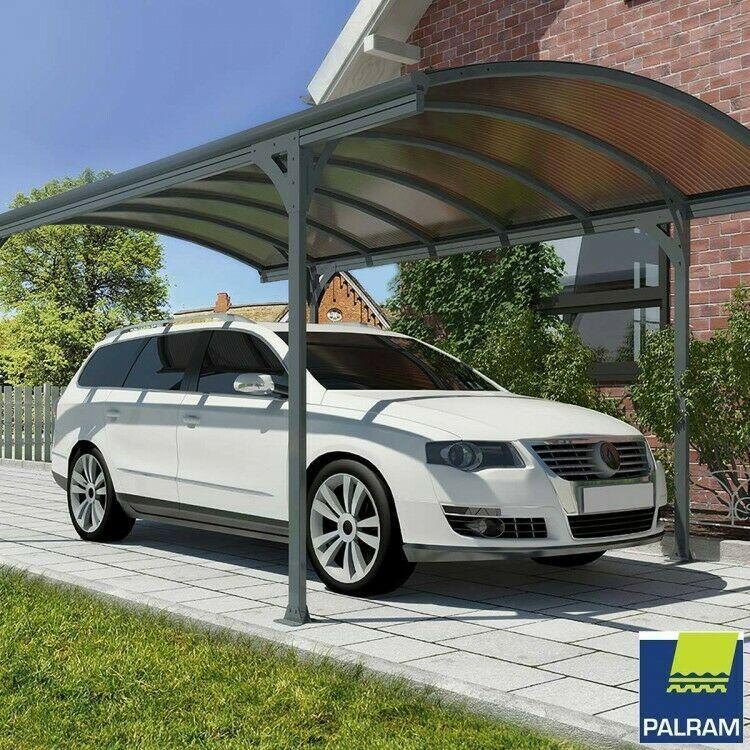 Details about Garage Waterproof Carport Steel Car Driveway