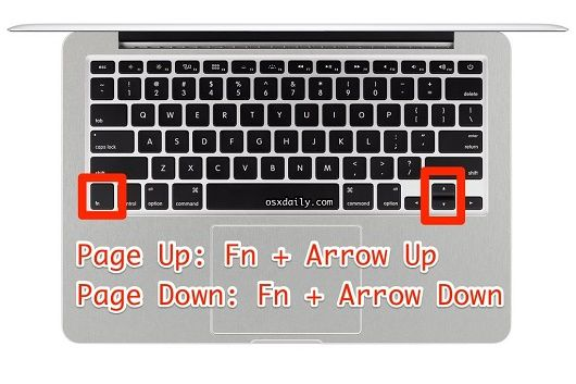 How To Page Up Amp Page Down On Mac Keyboards Web Junkies