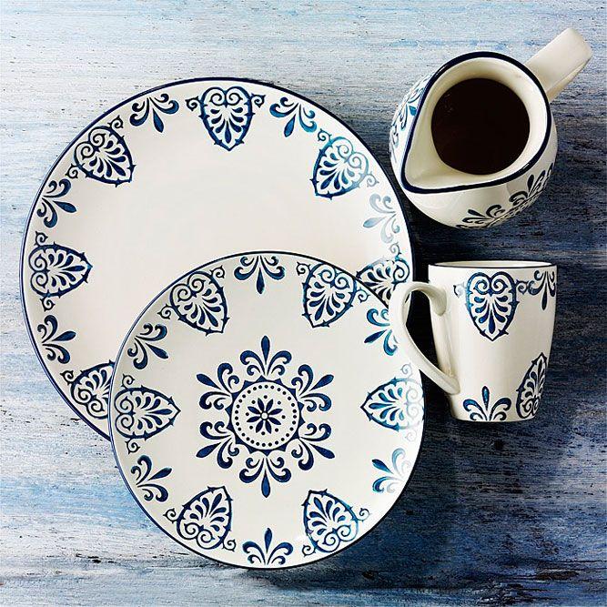 Platos de ceramica pintada a mano buscar con google - Platos de ceramica ...