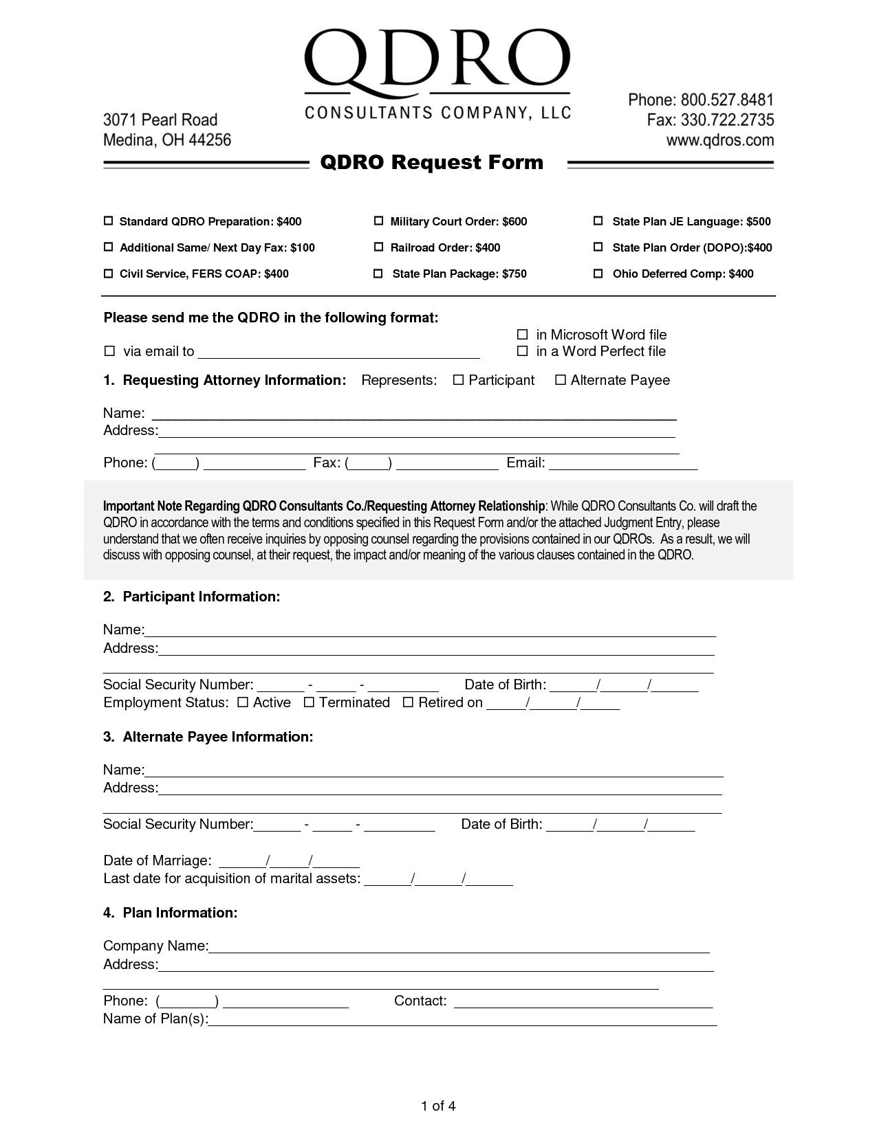 QDRO | QDRO Attorney | Qualified Domestic Relations Order | QDRO ...