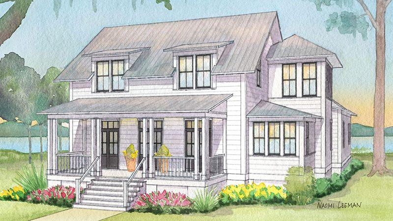 Big News About The 2018 Coastal Living Idea House Coastal House Plans Southern House Plans Southern Living House Plans