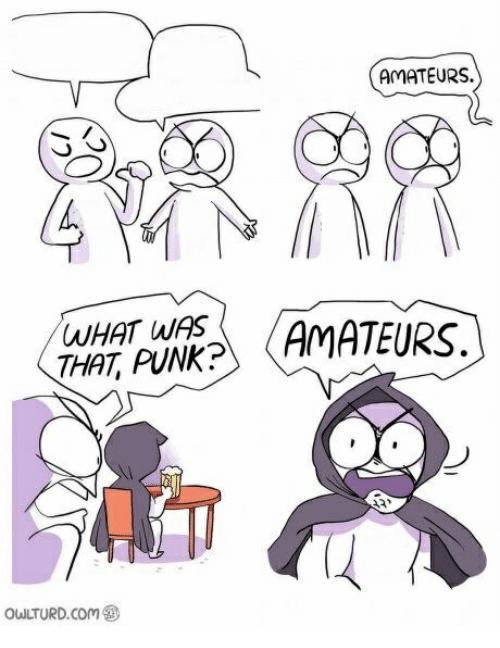Amateurs Meme Template and Creator Owlturd, Meme creator