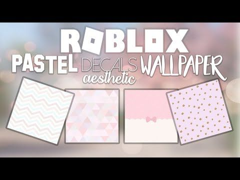 roblox wall decals id