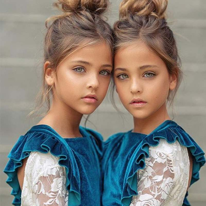 Wow!: So sehen die schönsten Zwillinge der Welt he