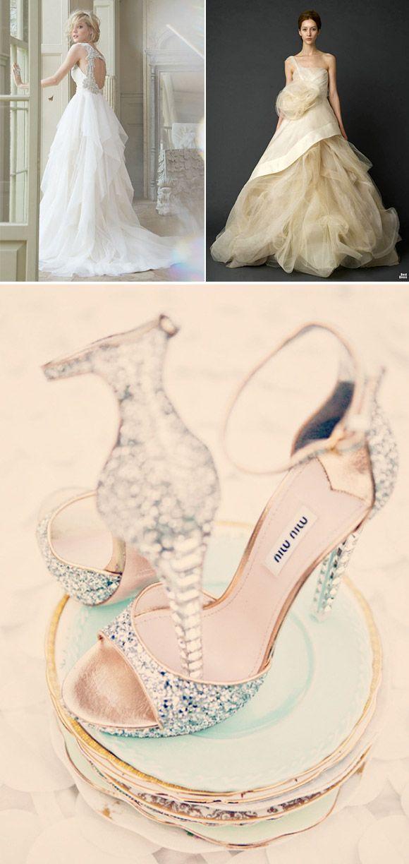 Vestidos de Novia para princesas de cuento | Vestidos de novia, De ...