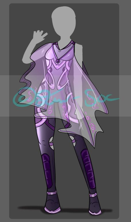 Mini Single Clothing Adopt CLOSED by JxW-SpiralofChaos Outfit