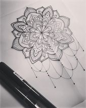 "Dominique Holmes on Instagram: ""Mandala.   #tattoo #tattooart #tattoodesign #m..."
