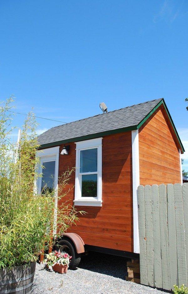 120 Sq Ft Aroyo Tiny House On Wheels Small Houses On Wheels Tiny House On Wheels House On Wheels