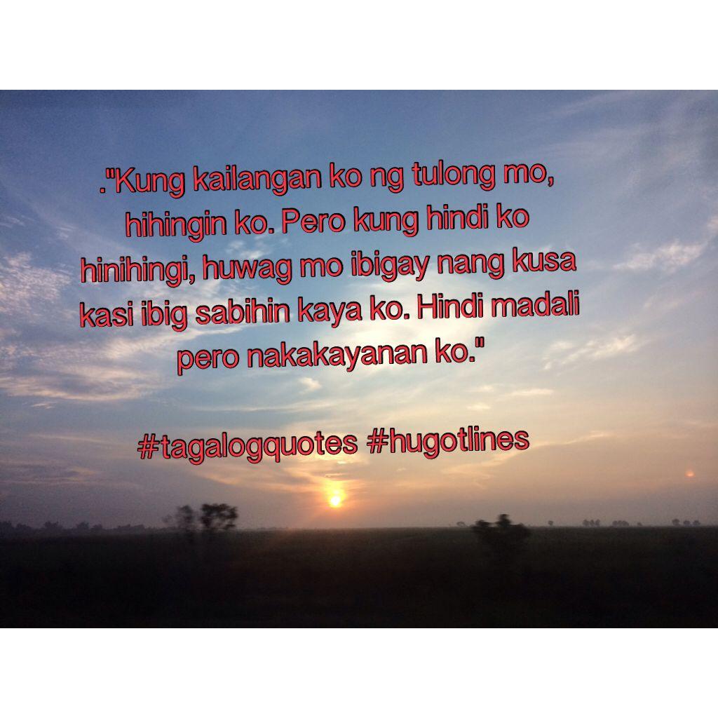 Tagalog quotes · hugotline
