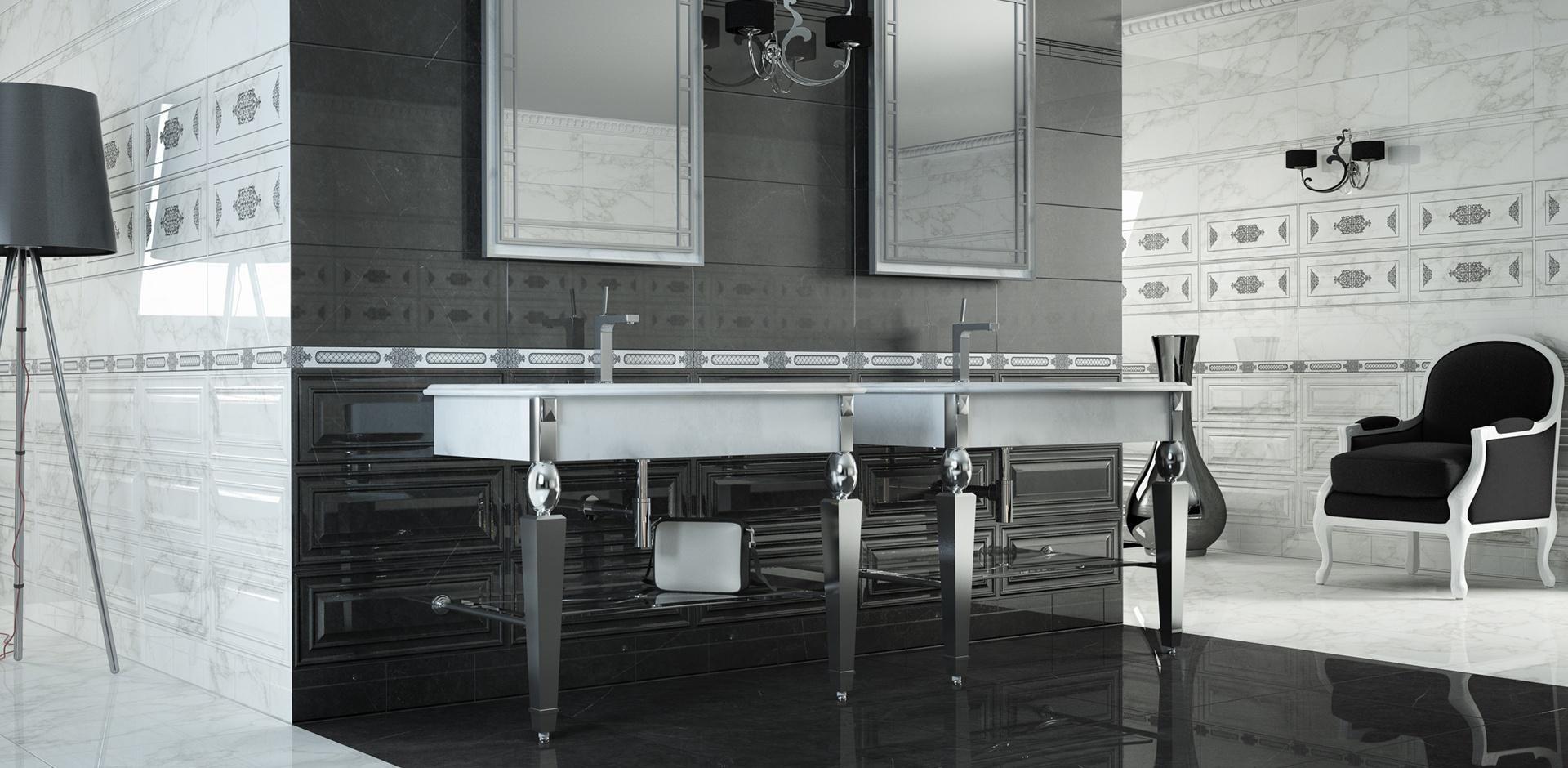 Crystal White + Dark 24x24 (floor) porcelain #argenta | Natural ...