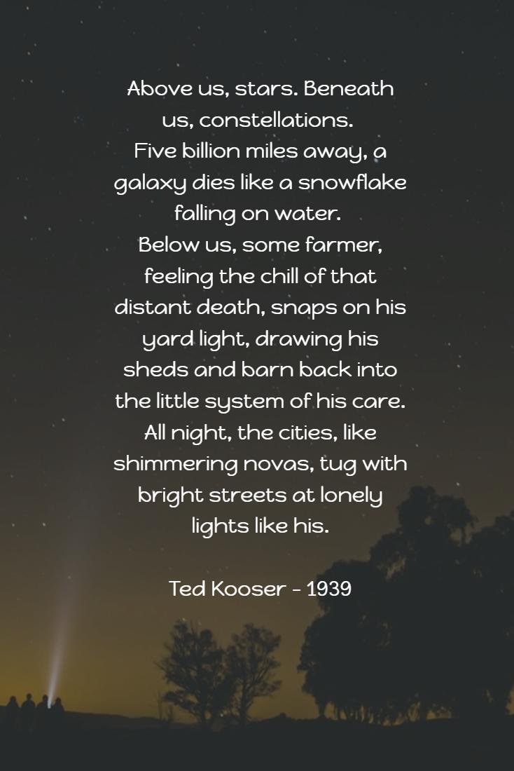 Starry Night Poems 3