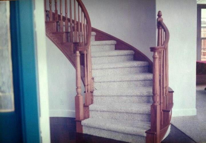 Oak Radius Staircase