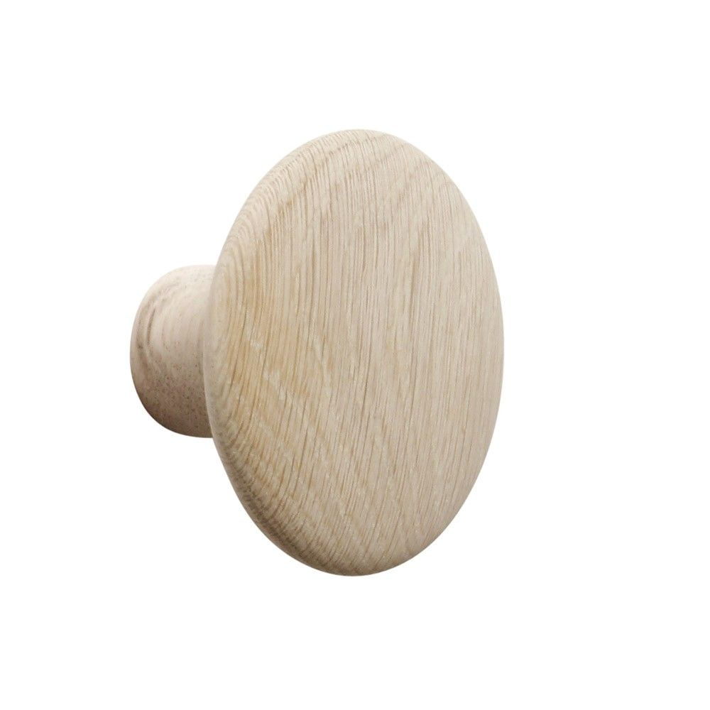 Muuto+The+Dots+Coat+Hook+-+Hang+your+jacket+up+with+the+Muuto+The+Dots+Coat+Hooks. The+coat+hooks+are+made+from+first+class+oak,+while+colour+variations+are+made+from+stained+ash+wood. The+hooks+feature+minimal+detailing+with+round+edges+and+a+soft+look. This+is+the+perfect+accessory+to+place+on+your+wall+for+an+added+layer+of+style+that+meets+everyday+practicality. The+coat+hooks+will+be+a+great+feature+to+welcome+guests+into+the+home+in+the+entrance+hallway. The+Muuto+The+Dots+Coat+Ho...