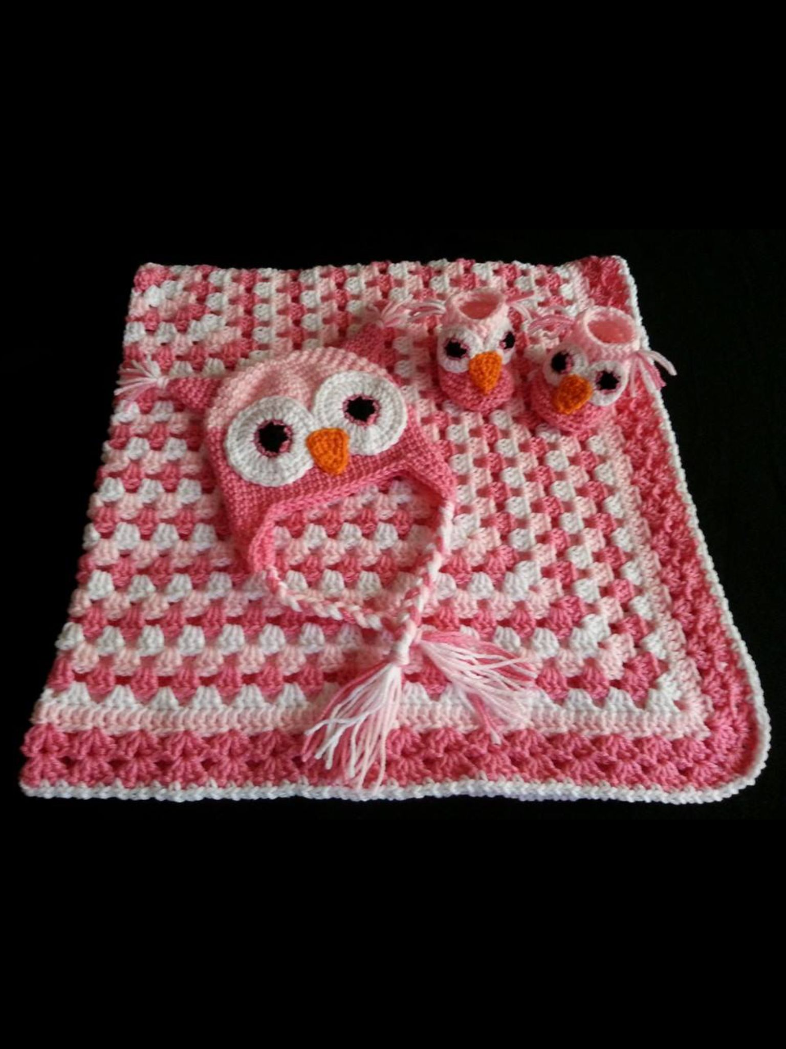 Crochet Owl Baby Set | Crochet Baby | Pinterest | Crochet bebe, Bebe ...
