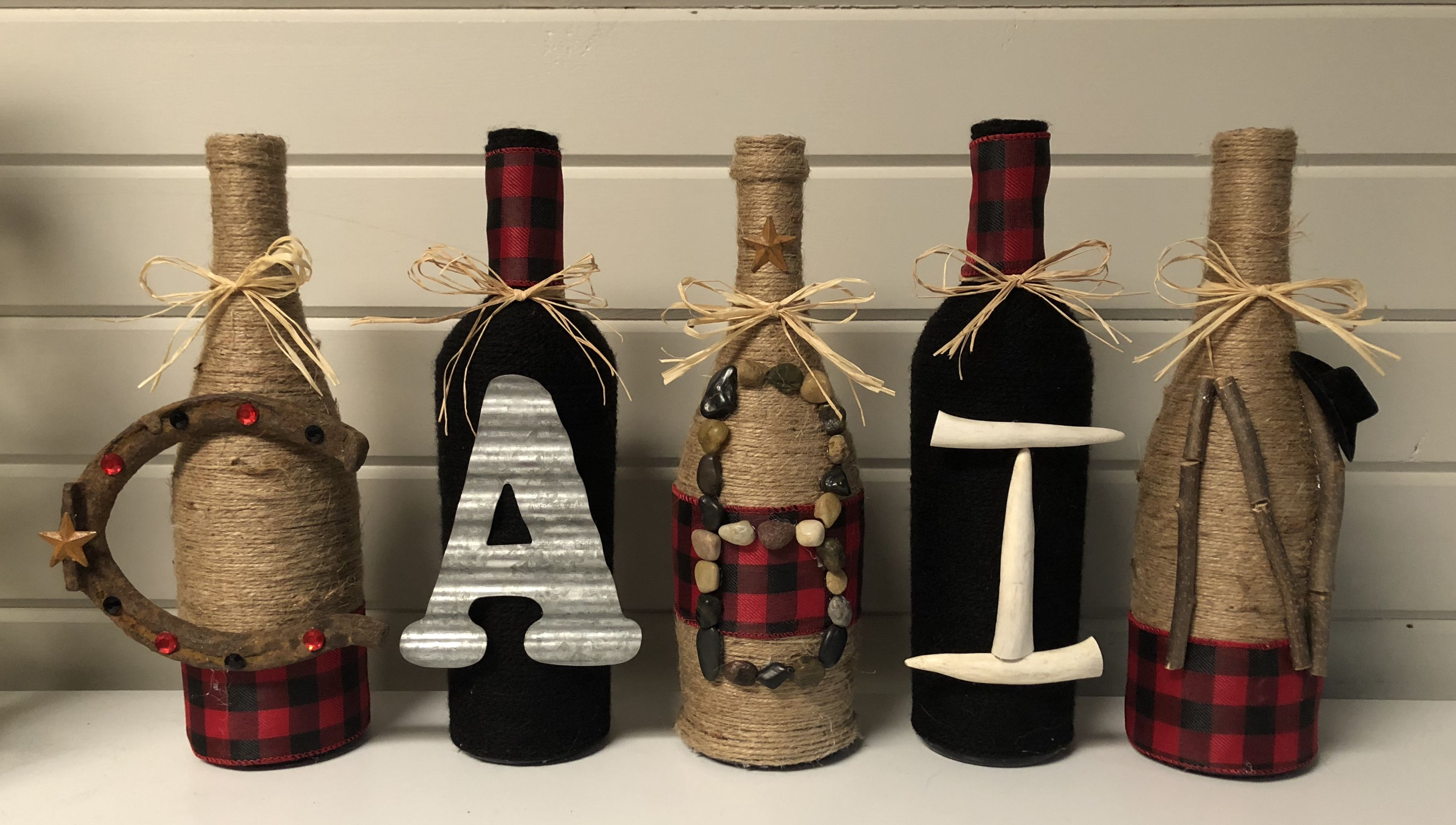 Pin on My Wine Bottle Crafts