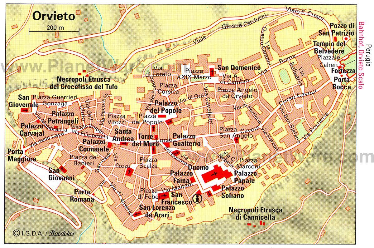 Orvieto e una citta nella provincia di Terni a sudovest di Umbria