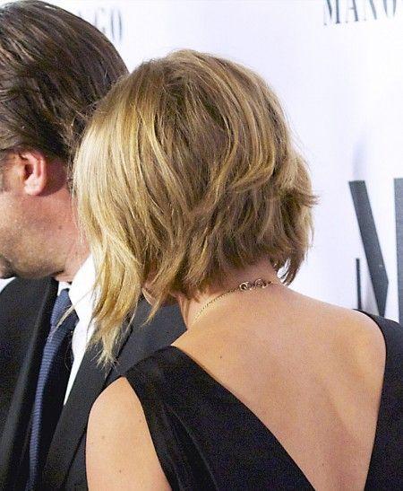 Scarlett Johansson Bob Haircut Hair Pinterest Frisyrer And