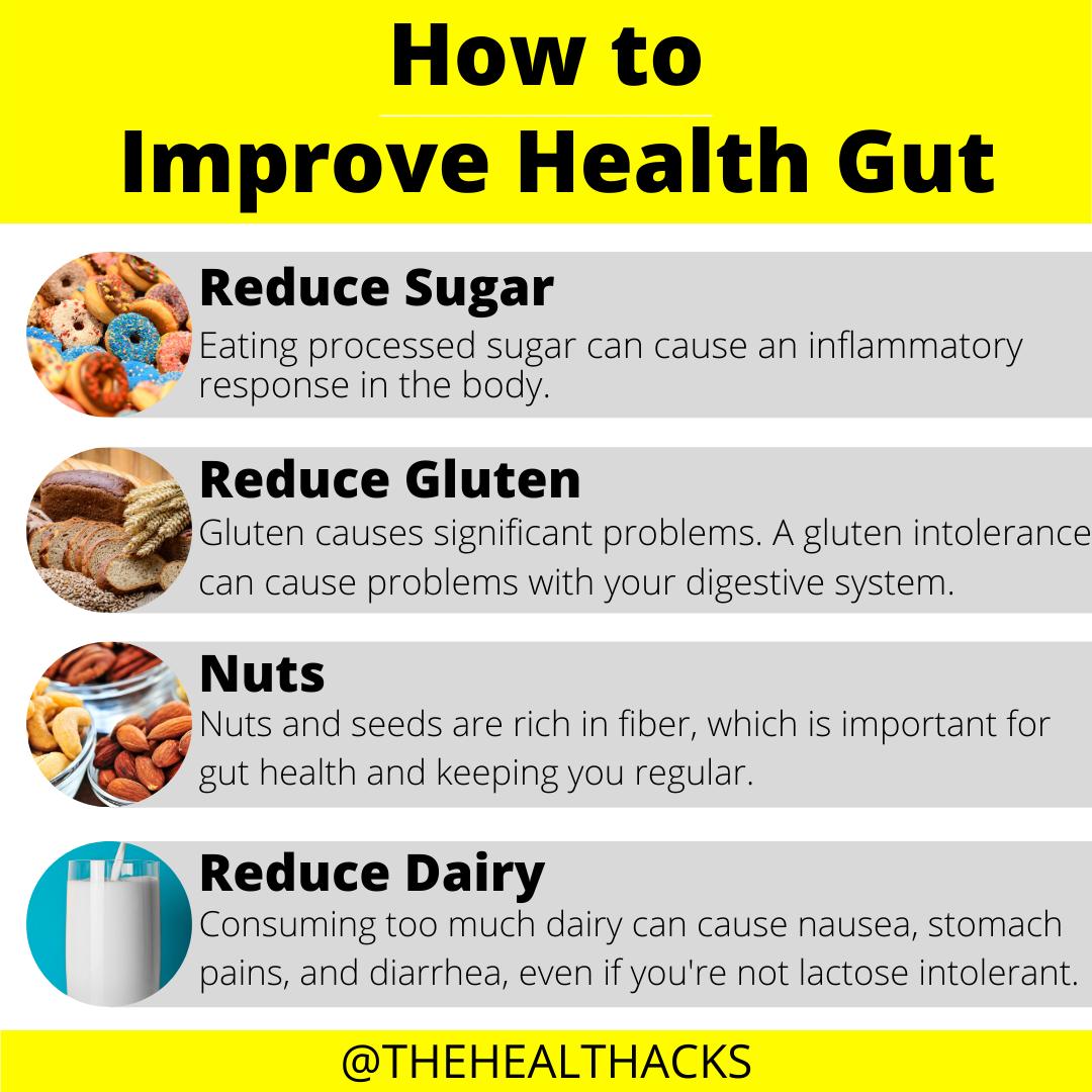 How To Improve Gut Health Gut Health Health Tips Health