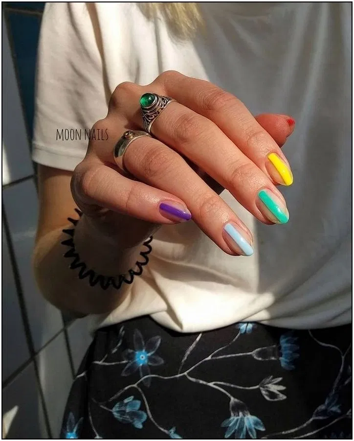 170 stylish short gel nail designs page 2   Armaweb07.com