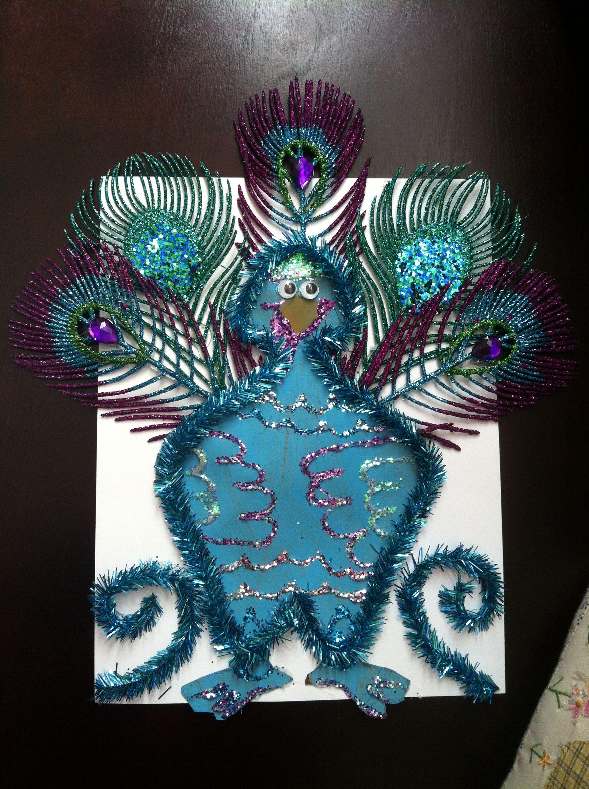 Turkey Disguise peacock | School projects | Pinterest | Turkey ...
