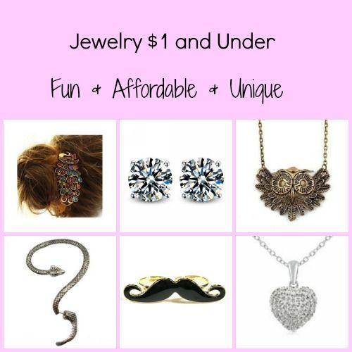 Jewelry $1 & Under Round Up