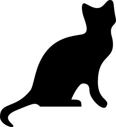 download cat silhouette clip art vector free clipart best rh pinterest com vector cattails vector cathodic protection