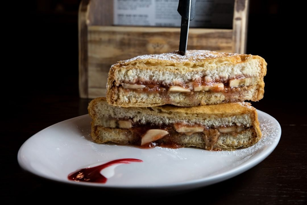 Our October Texas State Fair special includes this mouthwatering fried PB&J sandwich 🤤   The Texas State Fair specials are only happening until the end of the month, so don't miss out!  