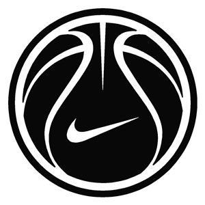 nike logo basketball logo basketball nike logo and custom design rh pinterest com Best Basketball Logos Dunking Tran Logo