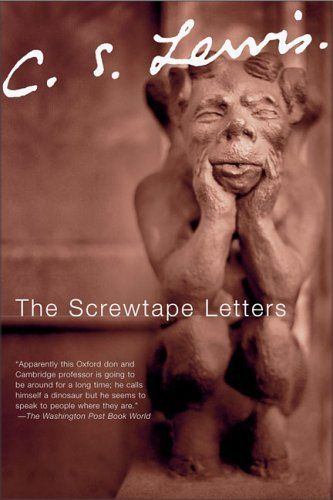the screwtape letters by cs lewis highly enjoyed reading this plus i think it