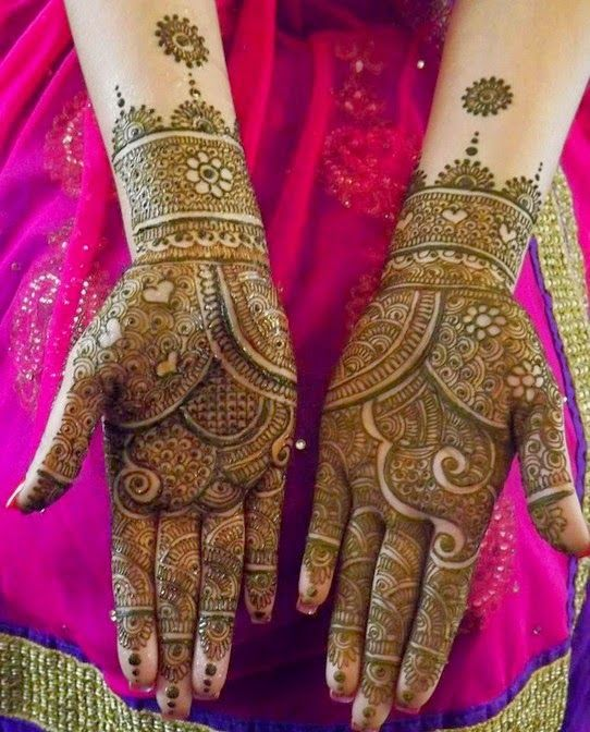 full hand mehndi designs pakistani