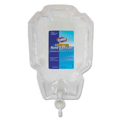 Clorox Hand Sanitizer Push Button Dispenser Refill Hand