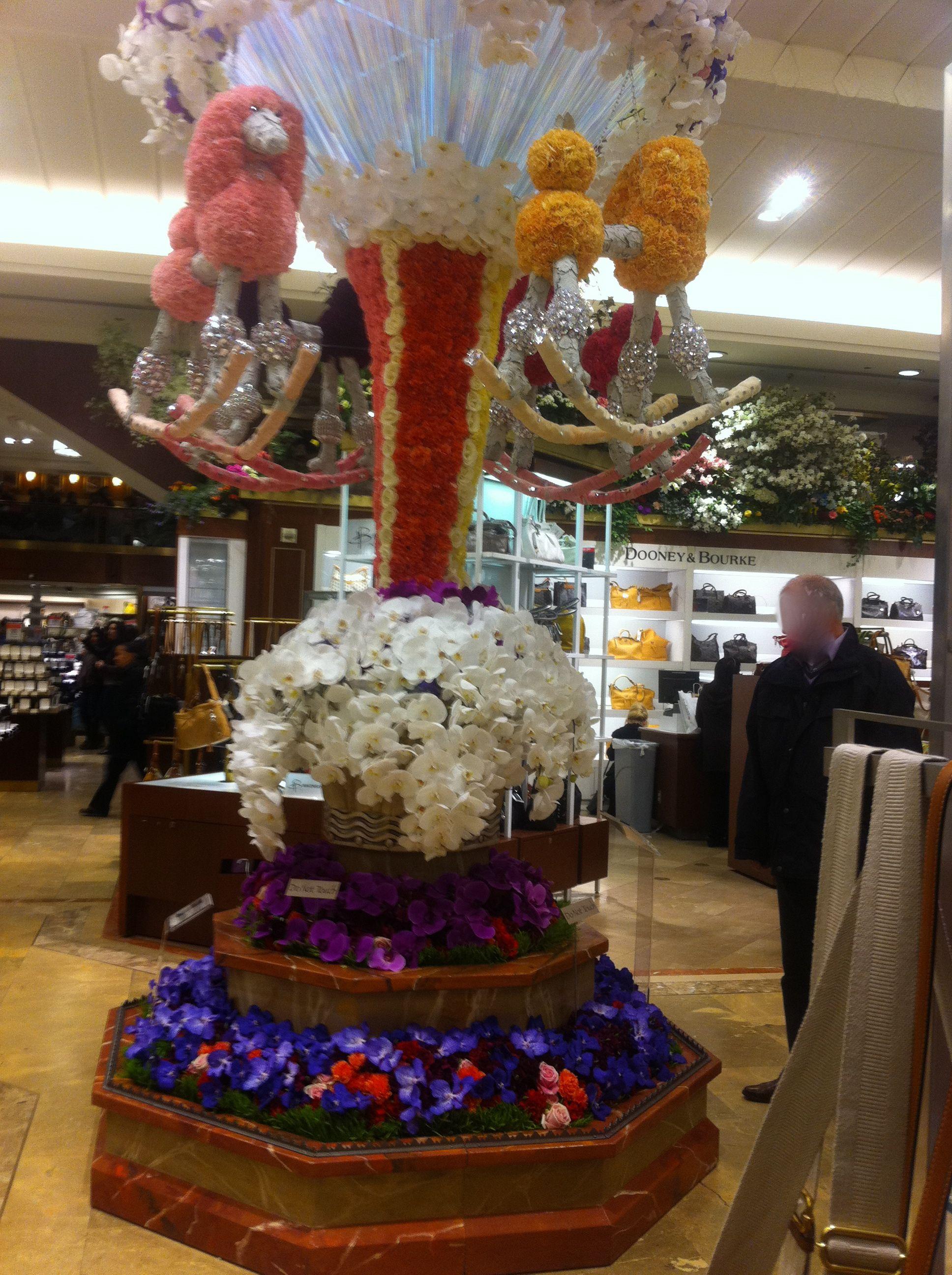 macys flower show union square san francisco display