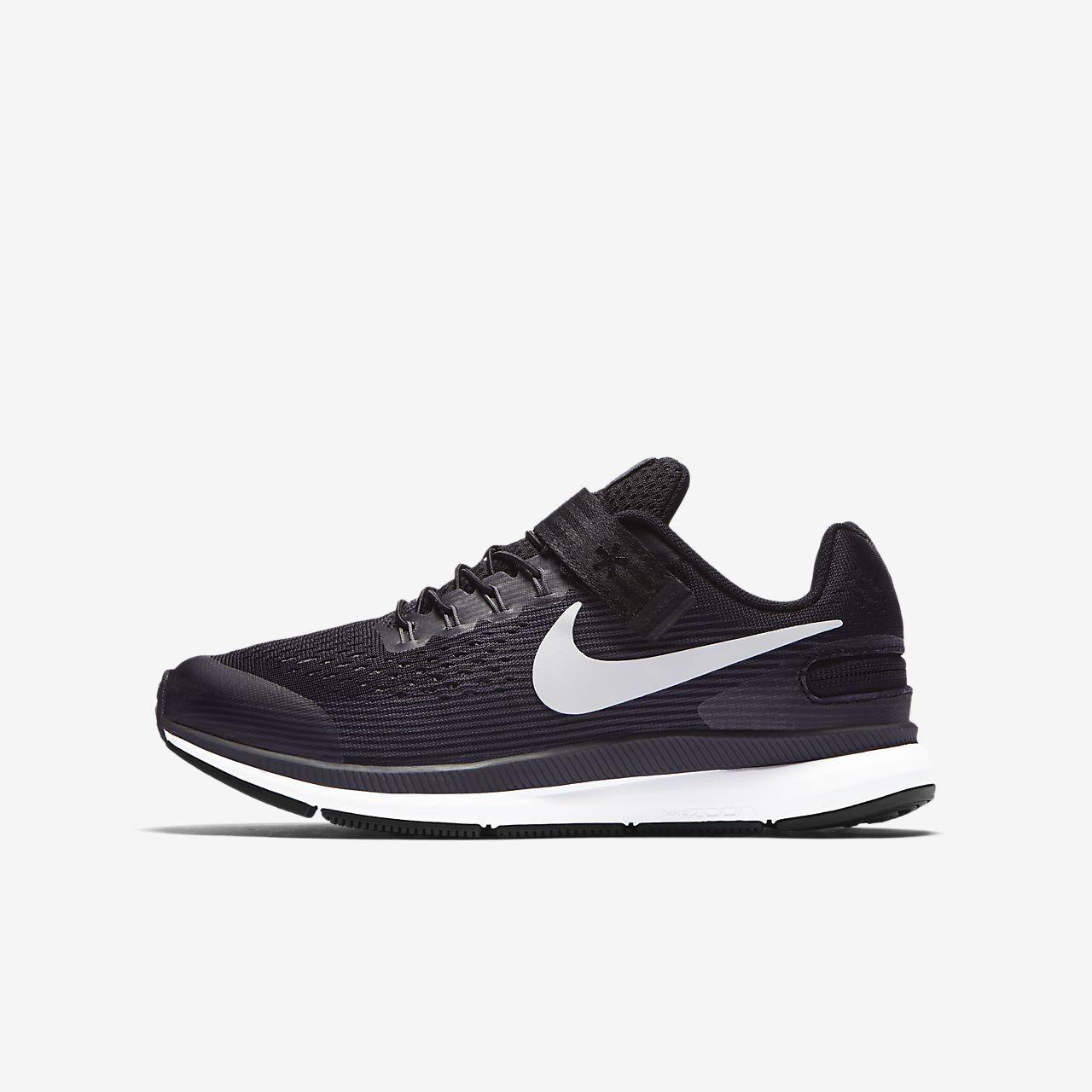 Nike Zoom Pegasus 34 FlyEase Big Kids  Running Shoe (Extra-Wide) by ... 8ae1651ff51f