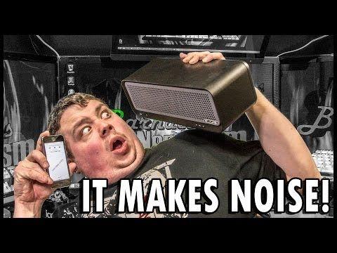 JLAB Bouncer Wireless Bluetooth Speaker : It Really Blows! - http://gadgets.tronnixx.com/uncategorized/jlab-bouncer-wireless-bluetooth-speaker-it-really-blows/
