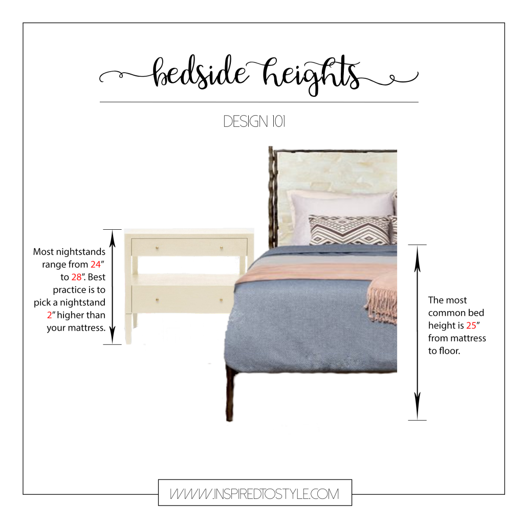 How To Pick The Perfect Bedside Table Perfect Bedside Table Perfect Nightstand Bedside Table