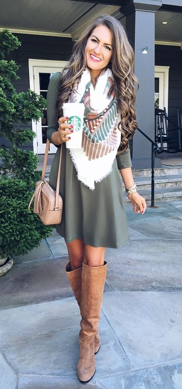 Pretty Fall Outfit Without The Scarf For Me It Is Nice Though