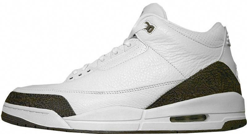 1de06e2a8c7 Air Jordan 3 Mens Fashion Basketball Sneakers Retro Mocha White 136064 121  #MensFashionSneakers