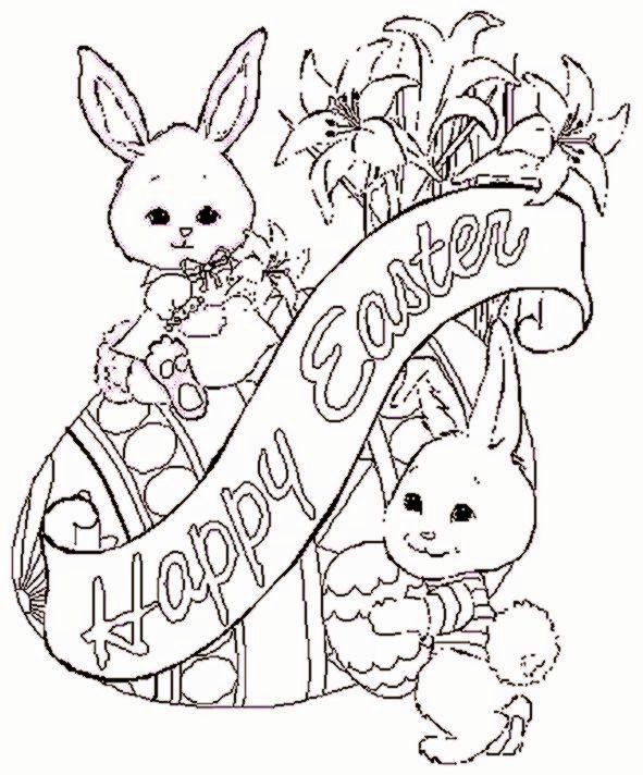 Realistic Animal Coloring Books in 2020 | Easter bunny ...