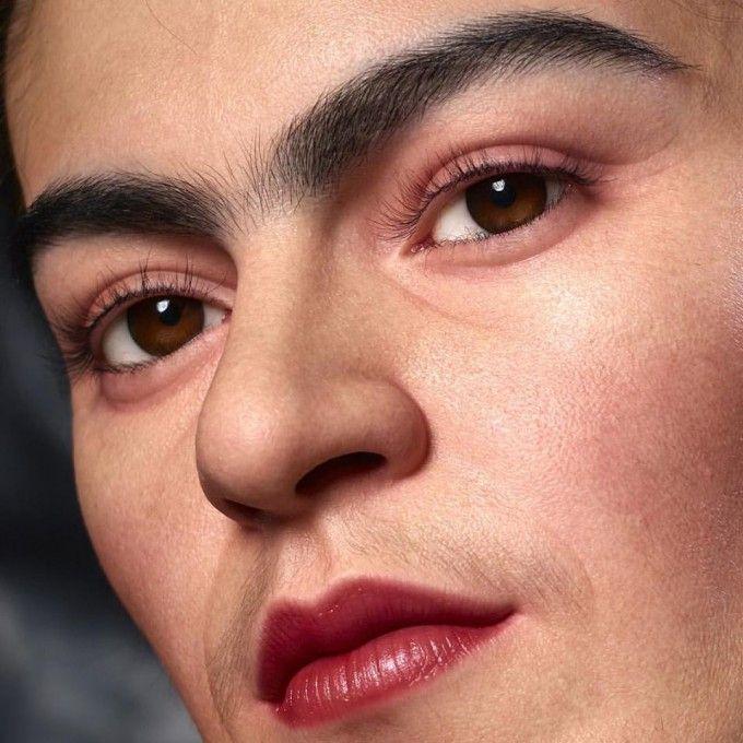 Life Portrait of Frida Kahlo by Kazuhiro Tsuji - A