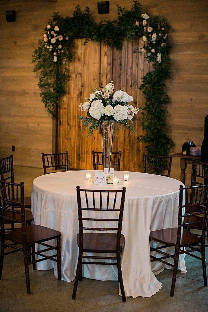 Modern indoor & outdoor wedding venue at the Barn at Shady