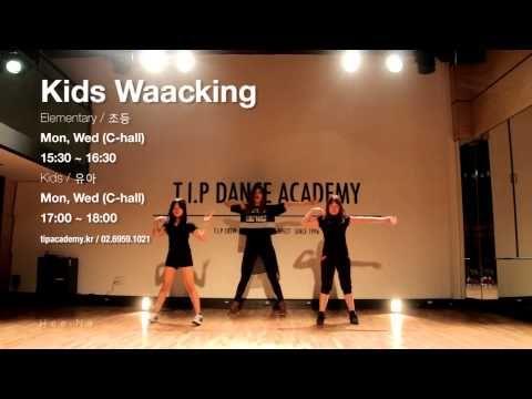 Kids Waacking Class / T.I.P Dance Academy