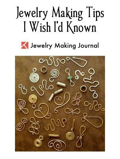 Photo of Jewelry Making Journal – Tips on Making Wire Jewelry I Wish …