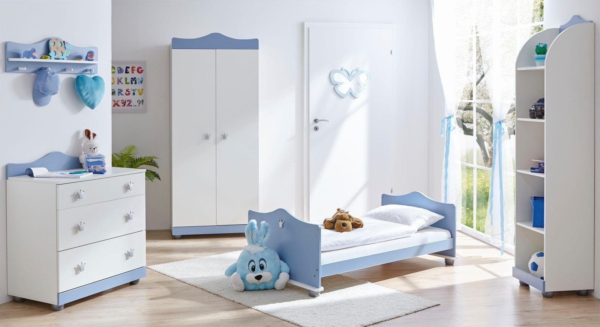 Babyzimmer-Komplettset »Prinz/Prinzessin«, blau, Ticaa